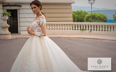 Сайт производителя свадебных платьев Dana Marya: удовольствие выбора, наслаждение стилем
