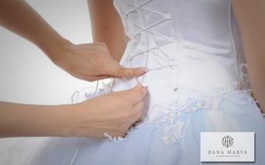 Способы шнуровки свадебного платья для невесты и ее подруг